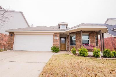 Waxahachie Single Family Home Active Option Contract: 1630 Wildflower Drive