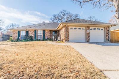 Arlington Single Family Home Active Option Contract: 6108 Kenilworth Drive