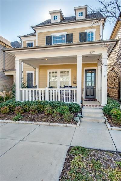 Coppell Single Family Home For Sale: 437 Travis Street