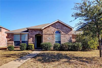 Royse City, Union Valley Single Family Home Active Option Contract: 1524 Lorena Drive