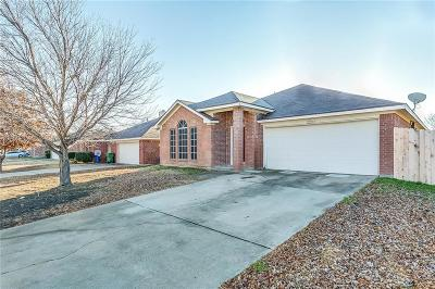 Mansfield Single Family Home Active Option Contract: 3204 Rustic Meadow Trail