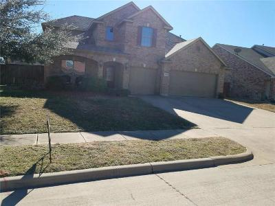 Mesquite Single Family Home Active Option Contract: 2838 Fantail Drive