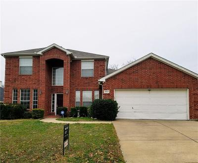 Grand Prairie Single Family Home Active Option Contract: 4824 New Forest Drive