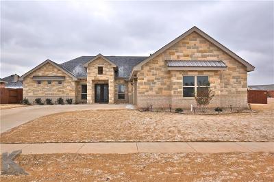 Abilene Single Family Home For Sale: 3833 Timber Ridge