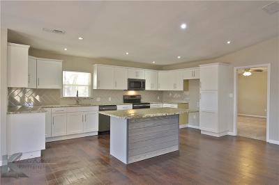 Abilene Single Family Home For Sale: 750 Berry Lane