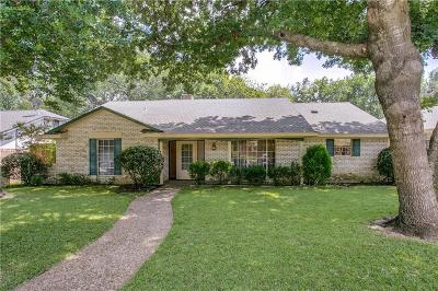 Richardson Single Family Home For Sale: 1702 Yorkshire Drive
