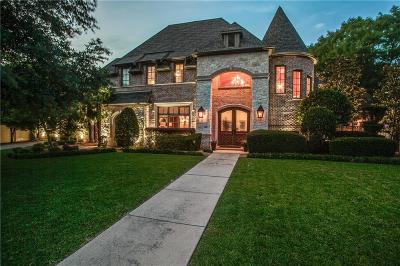 Preston Hollow Single Family Home For Sale: 5707 Watson Circle