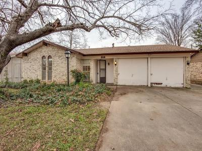 Irving Single Family Home Active Option Contract: 2116 Lake By Drive