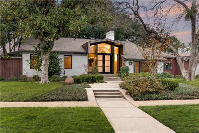 Highland Park Single Family Home For Sale: 4561 Westside Drive