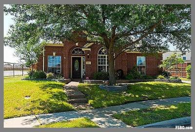 Lewisville Single Family Home Active Option Contract: 800 High Meadow Court