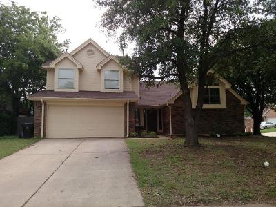 Flower Mound Single Family Home Active Option Contract: 1153 Prospect Drive