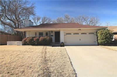 Single Family Home For Sale: 2820 Tex Boulevard