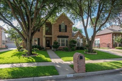 Keller Single Family Home Active Contingent: 1512 Birchmont Lane