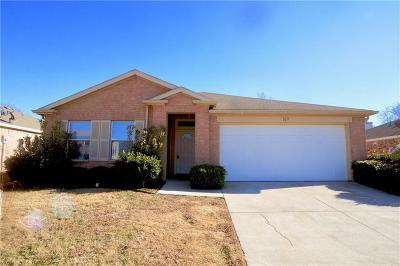 Seagoville Single Family Home Active Option Contract: 109 Pheasant Lane