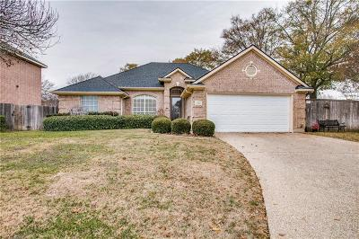 Grand Prairie Single Family Home Active Option Contract: 422 Hampton Circle