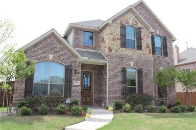 Allen Single Family Home For Sale: 809 Cougar Drive