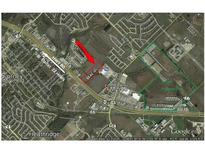 Forney Commercial Lots & Land For Sale: 0000 Hwy 80