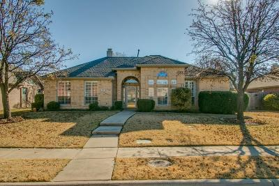 Carrollton Single Family Home For Sale: 3812 Gillespie Drive