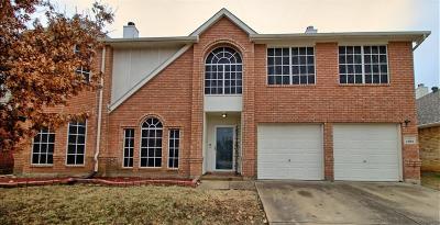 Arlington Single Family Home Active Option Contract: 1102 Bonanza Court