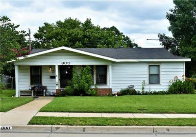 Fort Worth TX Single Family Home For Sale: $114,900