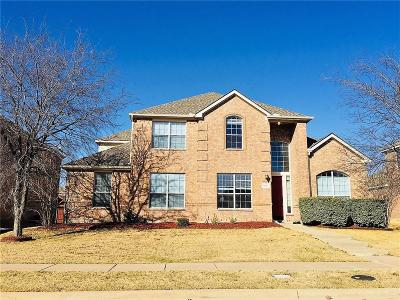 Frisco Single Family Home For Sale: 7478 Greenvalley Lane