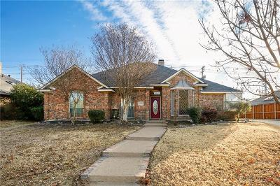 Plano Single Family Home Active Option Contract: 3500 Darion Lane