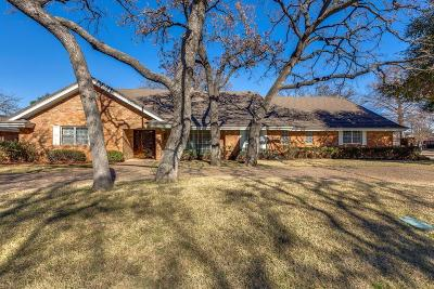 Arlington Single Family Home For Sale: 1820 W Cedar Elm Drive W