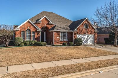 Flower Mound Single Family Home Active Option Contract: 3416 Beckingham Court