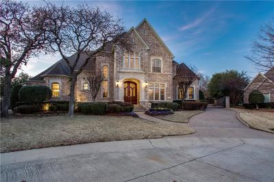 Southlake Single Family Home Active Option Contract: 404 Borders Court