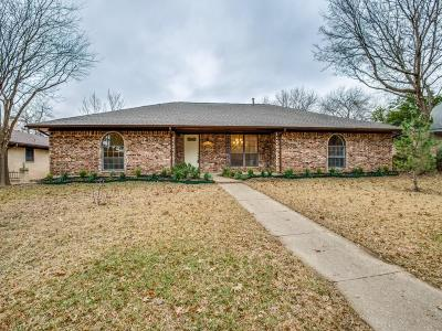 Lewisville Single Family Home Active Option Contract: 1508 Chisolm Trail