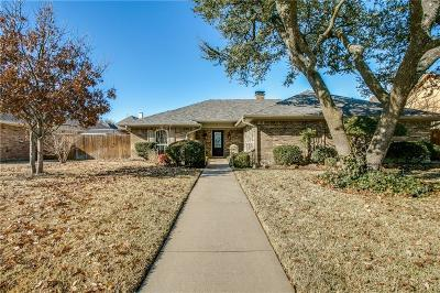Plano Single Family Home Active Option Contract: 2537 Bunker Hill Circle