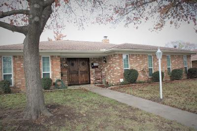 Lewisville Single Family Home Active Option Contract: 1201 College Parkway