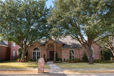 Carrollton Single Family Home Active Option Contract: 3805 Amberglow Court