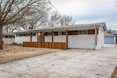 Dallas Single Family Home For Sale: 1714 Loree Drive