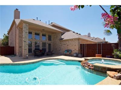 Allen Single Family Home Active Contingent: 952 Panther Lane