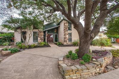 Richardson Single Family Home Active Option Contract: 1231 Whispering Oaks Lane