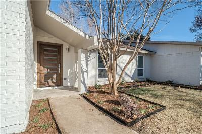 Single Family Home For Sale: 6741 Hillbriar Drive