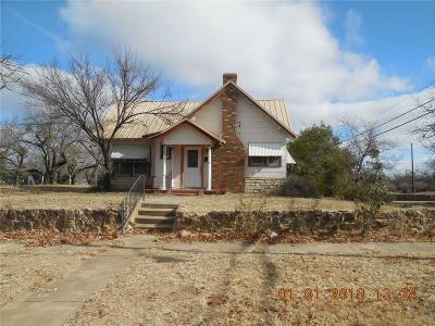 Eastland Single Family Home For Sale: 308 S Dixie Street