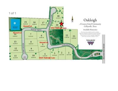 Residential Lots & Land For Sale: 5701 Oakleigh Lane