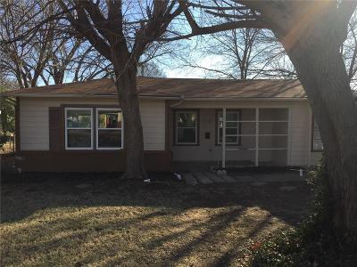 Haltom City Single Family Home Active Option Contract: 5120 Ira Street