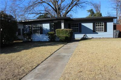 Dallas Single Family Home Active Option Contract: 2251 Winthrop