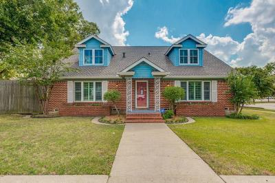 Ennis Single Family Home For Sale: 209 W Decatur Street