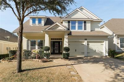 Fort Worth Single Family Home Active Option Contract: 4924 McCauley Drive
