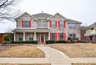 Plano Single Family Home Active Option Contract: 9109 Roundbluff Road