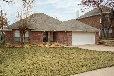 Grapevine Single Family Home Active Option Contract: 5202 Heatherdale Drive