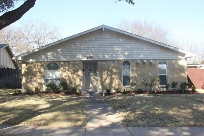 Garland Single Family Home Active Option Contract: 509 Aster Drive
