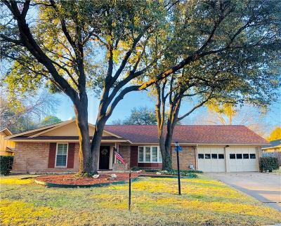 Benbrook Single Family Home For Sale: 3836 Carman Drive