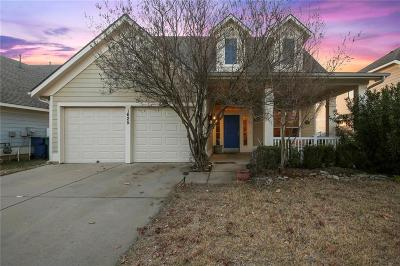 Aubrey Single Family Home Active Option Contract: 1625 Mary Lane