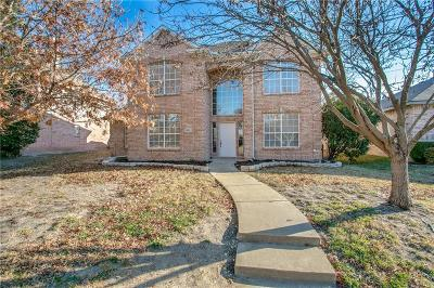 Plano Single Family Home Active Option Contract: 4624 Parnell Lane