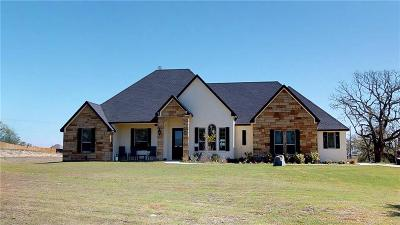Weatherford Single Family Home For Sale: 110 N Star Crossing Lane